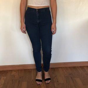 American Apparel Dark Easy Jeans